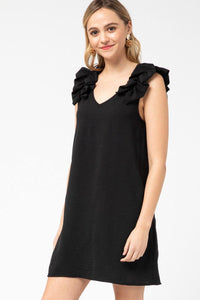Fiona Dress, Black