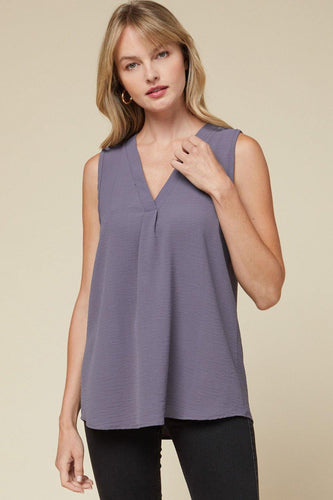 Heidi Top, Plum Grey