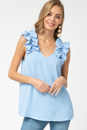 Carly Top, Blue