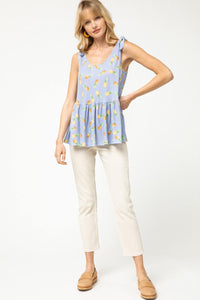 Hailey Top, Blue
