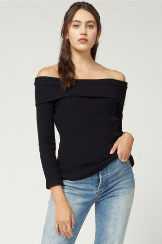 Whitley top, Black - Rose & Lee Co
