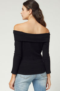 Whitley top, Black