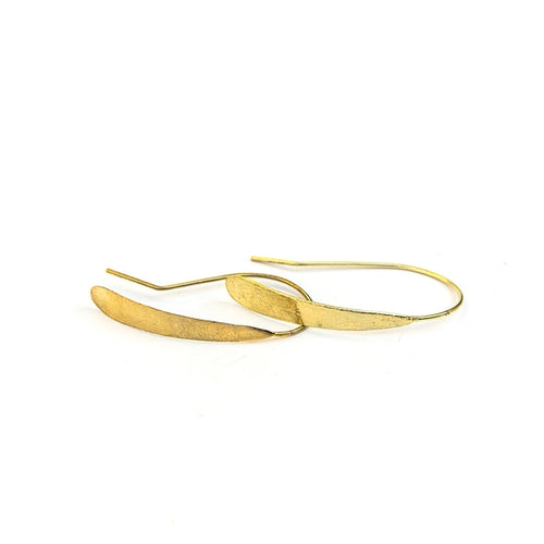 Faux Hoops, Brass