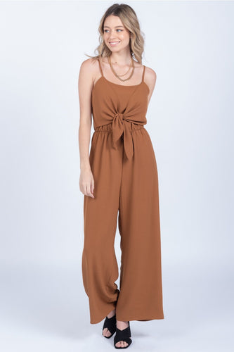 Hannah Jumpsuit, Toffee