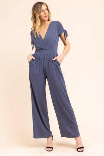 Ivy Jumpsuit, Charcoal