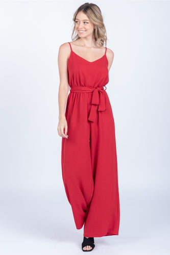 Belle Jumpsuit, Ruby