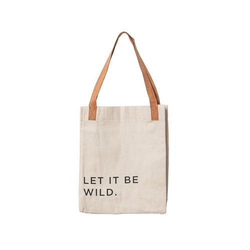 Let It Be Wild Tote