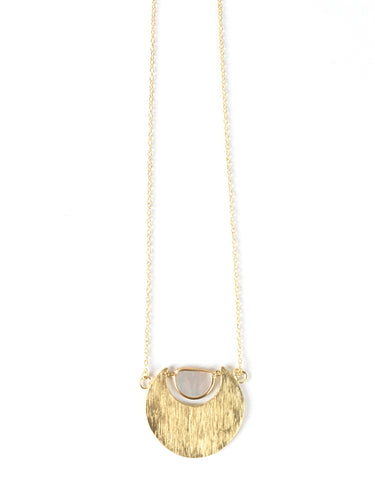 Mystic Journey Necklace, Gold