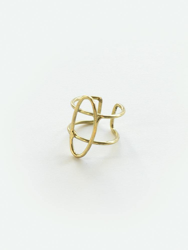 Foster Beach Ring, Gold