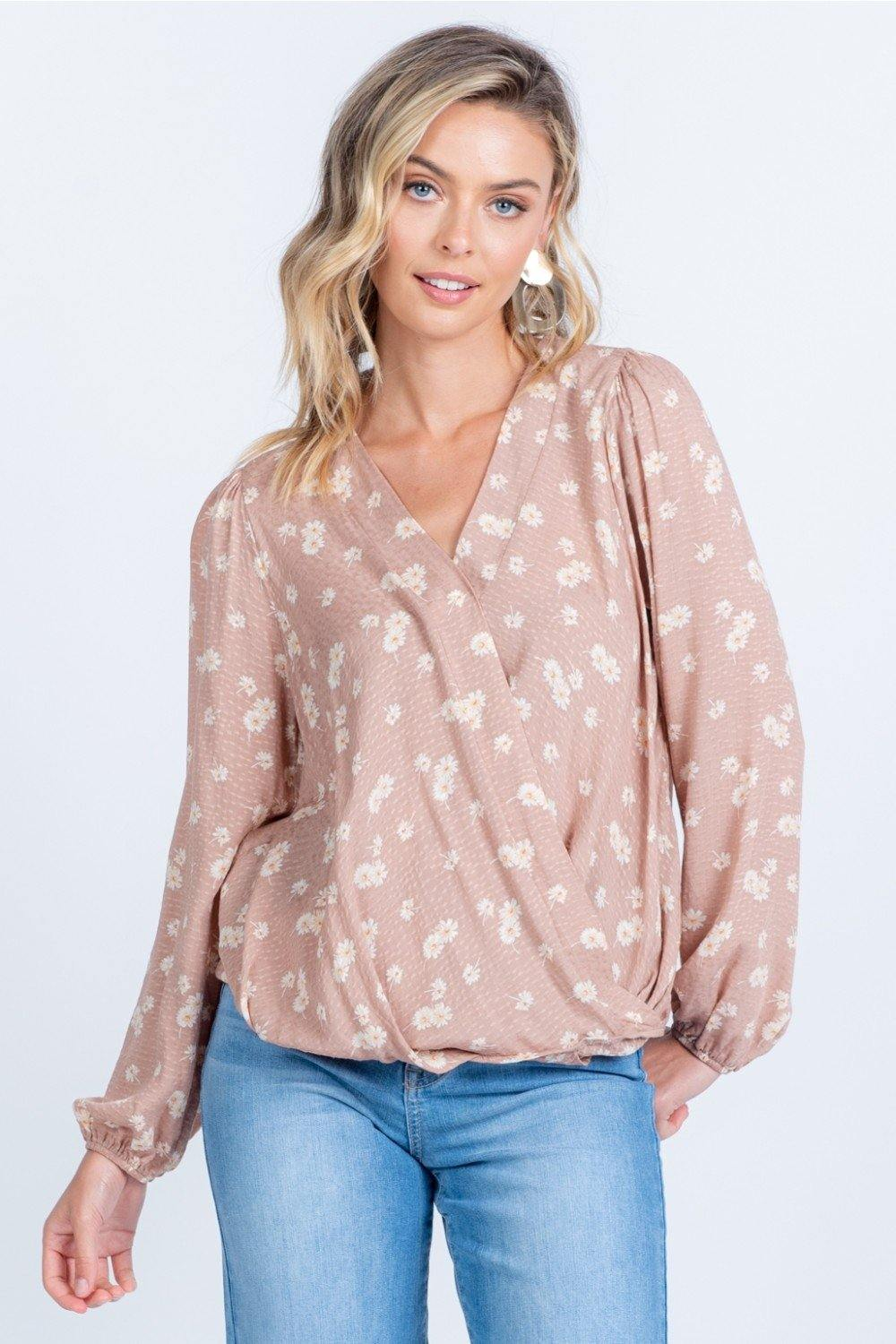 Ingrid Top, Taupe