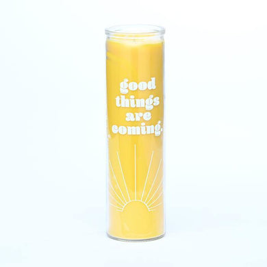 Good Things Are Coming Candle