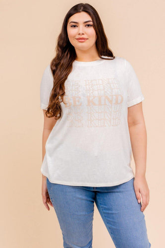 Be Kind Top (Curvy)