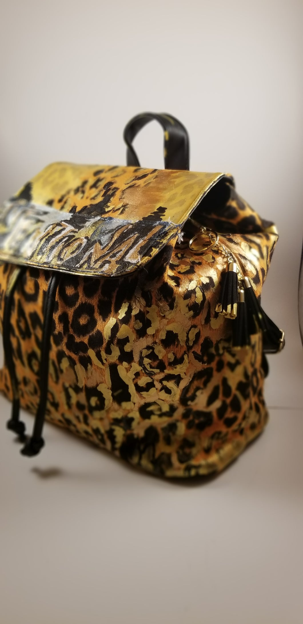 Custom Embellished Book Bag
