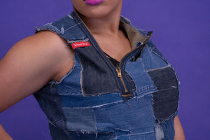 Denim Fitted Tunic