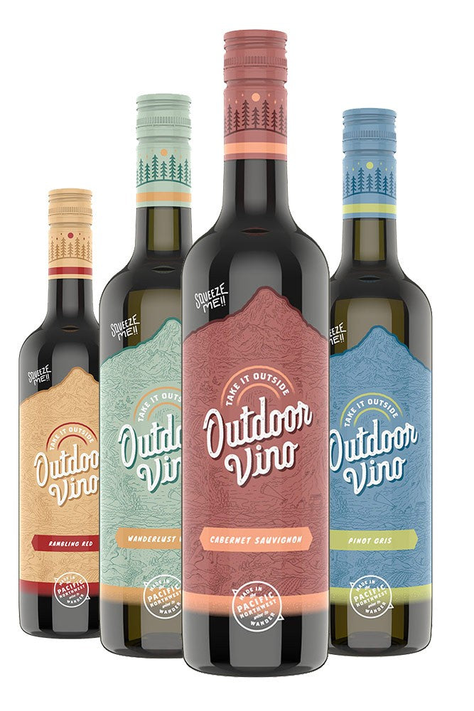 Adventure Ready Mixed Wine 4-Pack