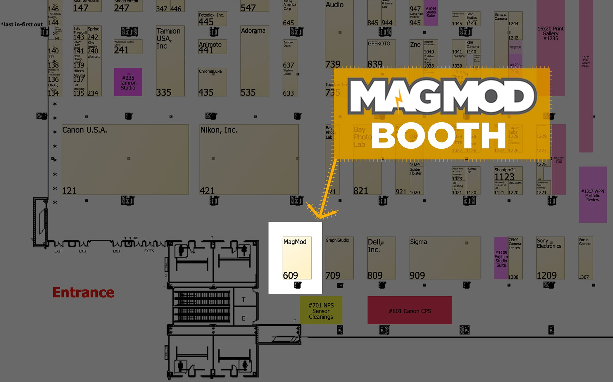 MagMod Booth Location