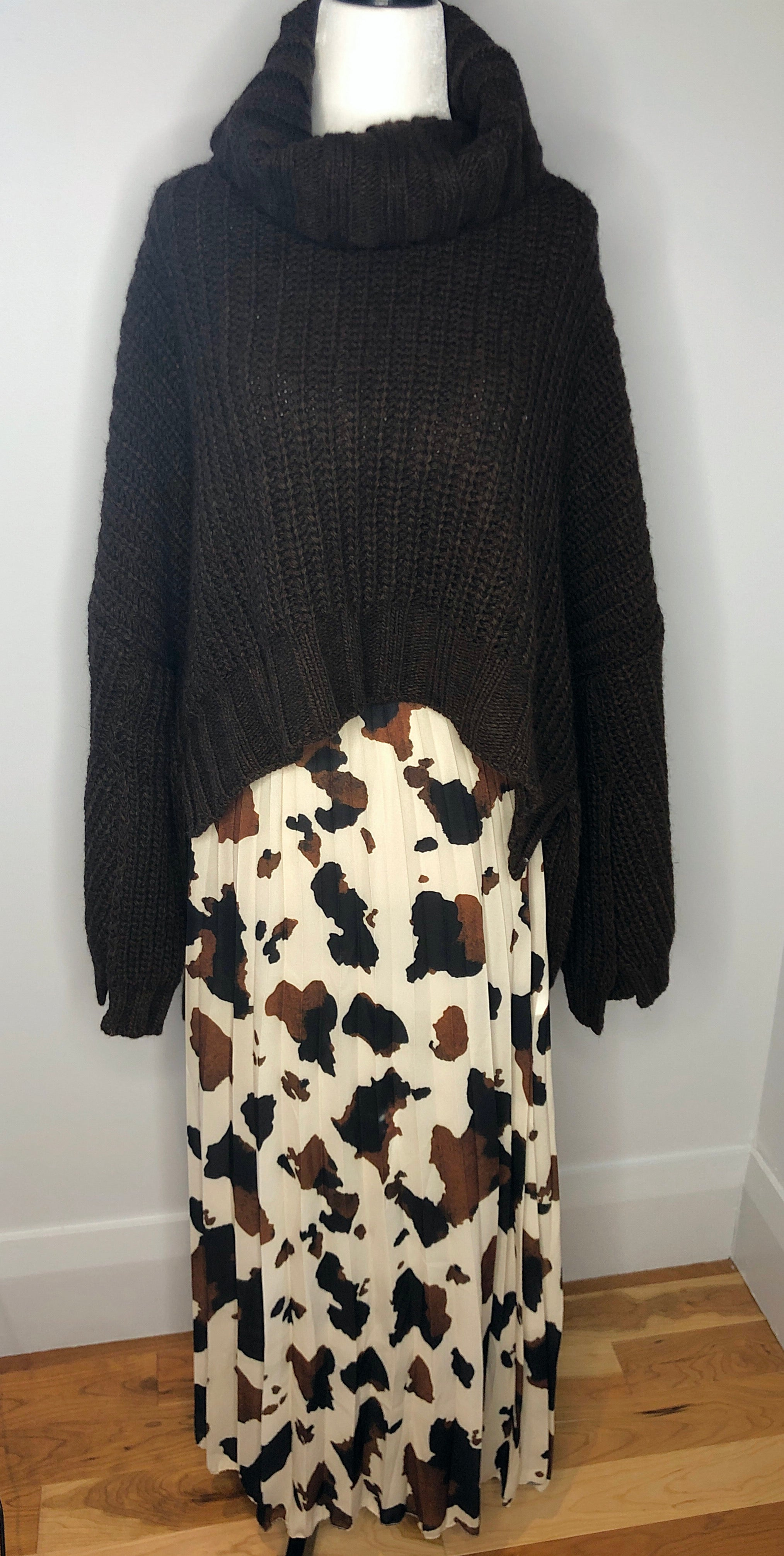 Brown Wool Sweater