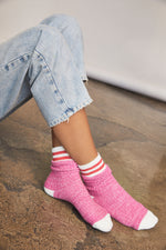 Load image into Gallery viewer, Jackson Cozy Striped Socks/Vanilla