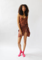 Load image into Gallery viewer, cami, tank top , burgundy