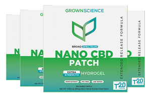 Broad Spectrum Nano CBD Patch