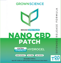Load image into Gallery viewer, Broad Spectrum Nano CBD Patch