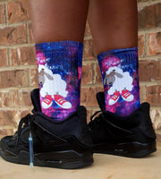 Supernova Socks By Sneaker DreamZzz