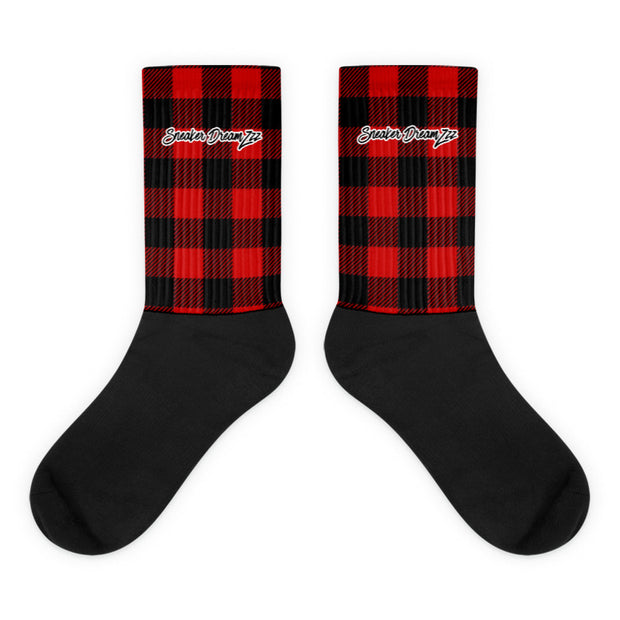 Plaid Socks By Sneaker DreamZzz