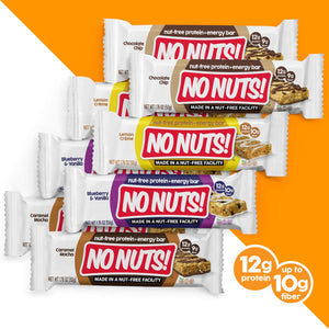 No Nuts! 8-Pack Variety Pack | 8 NUT-FREE Bars - Nut Free Bars