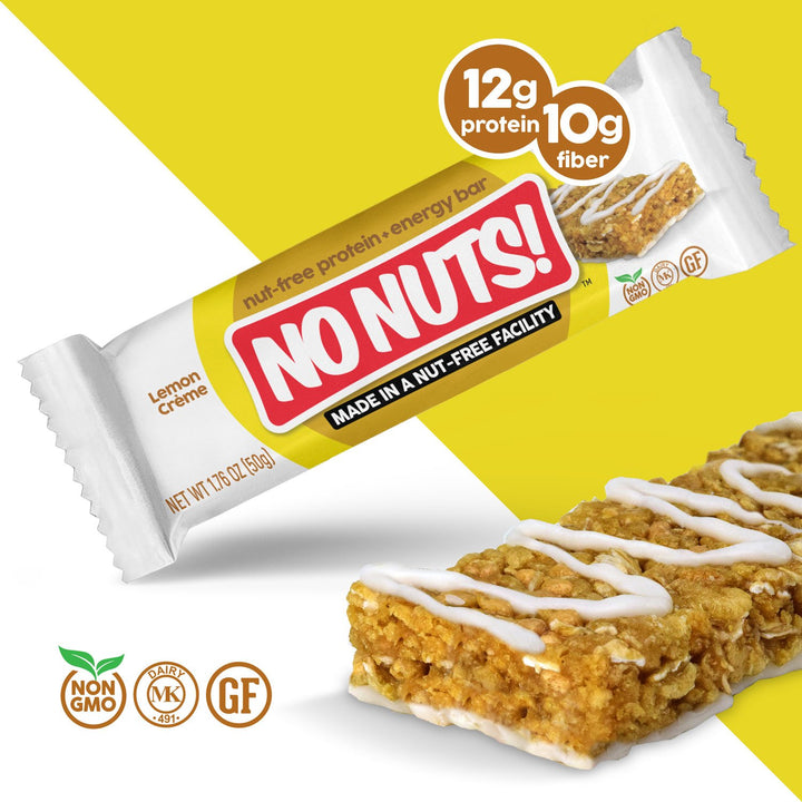 No Nuts! Lemon Créme Protein Snack Bars - Nut Free - Nut Free Bars