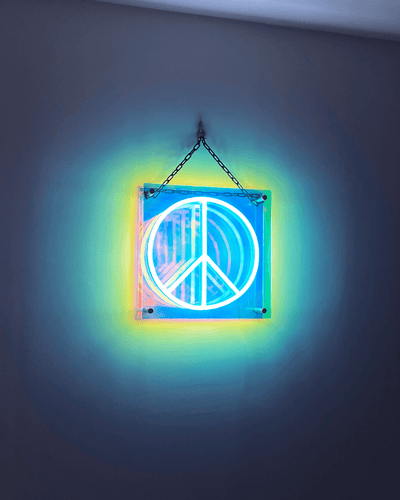 Infinite Peace LED Neon Sign