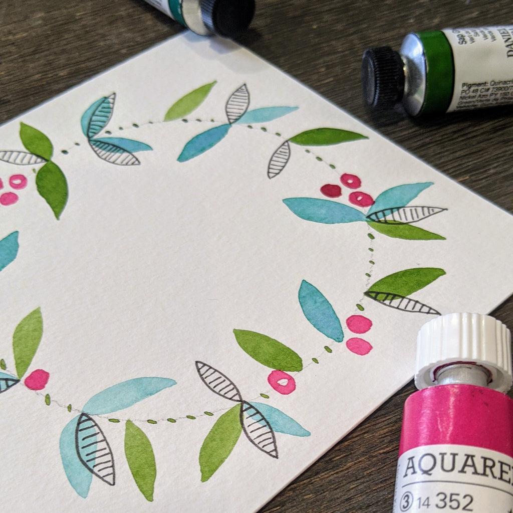 How To Make Beautiful Handmade Watercolour Greeting Cards
