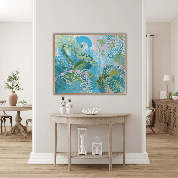 "Ros Gervay Creative Giclee Print ""A Drop in the Ocean"" Fine Art Print"