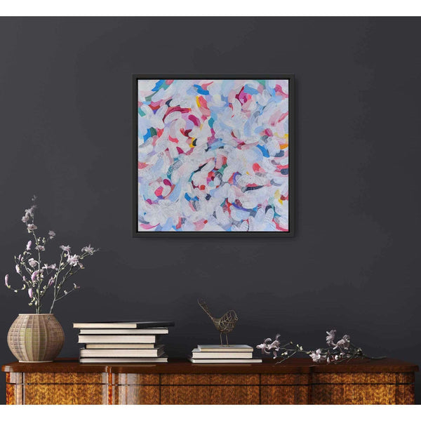 "Ros Gervay Creative Giclee Print ""Shades of Spring"" Fine Art Print"