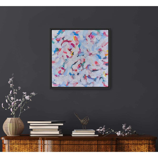 "Ros Gervay Creative Giclee Print ""Shades of Spring"" Mini Print"