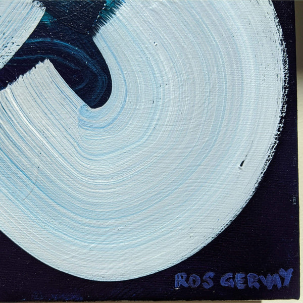 "Ros Gervay Creative Giclee Print ""The Blues"" Fine Art Print"