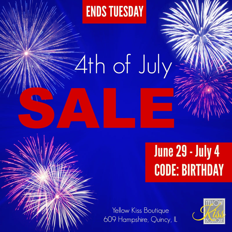 Summer 4th of July SALE