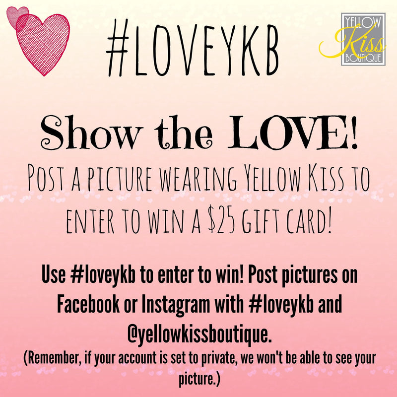 #loveykb Show the LOVE