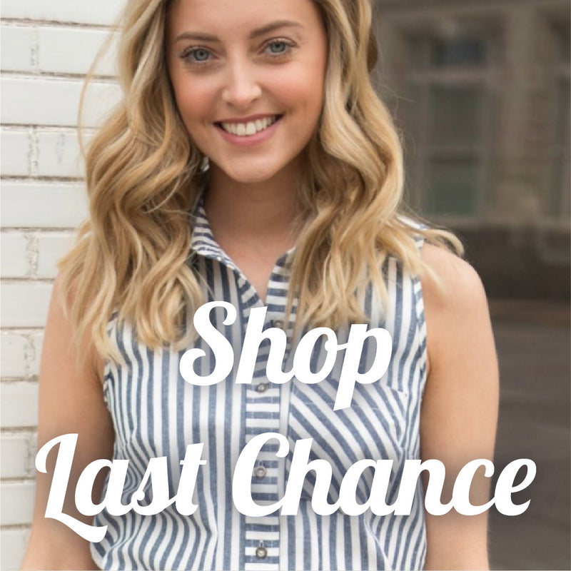 Shop our last chance items. Stylish, contemporary, boutique fashion.