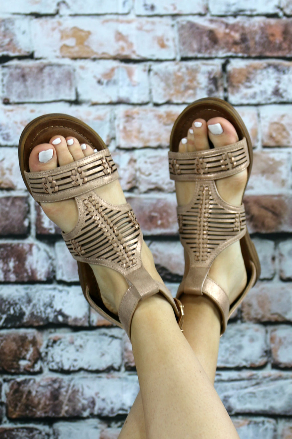 Callie Sandals - Yellow Kiss Boutique