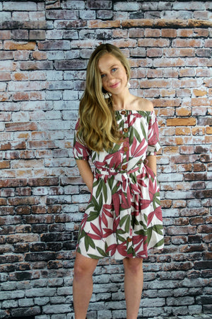 Spring Breeze Dress - Yellow Kiss Boutique