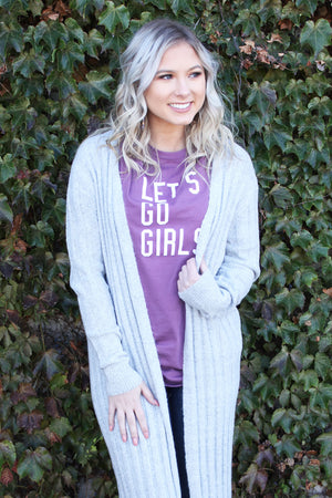 Let's Go Girls Tee - Yellow Kiss Boutique
