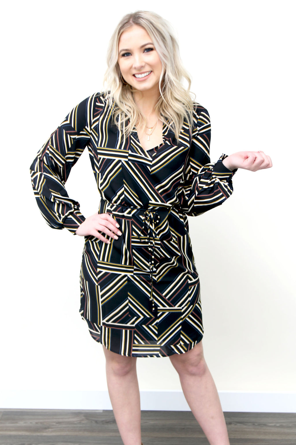 Sunday Morning Brunch Dress - Yellow Kiss Boutique