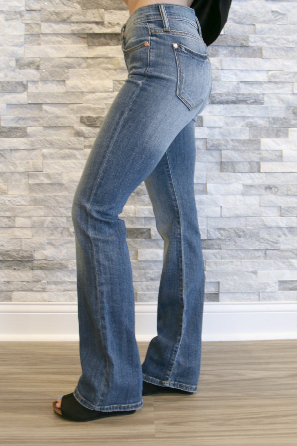 Judy  Bootcut - Yellow Kiss Boutique