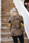 Leopard Joy Top - Yellow Kiss Boutique