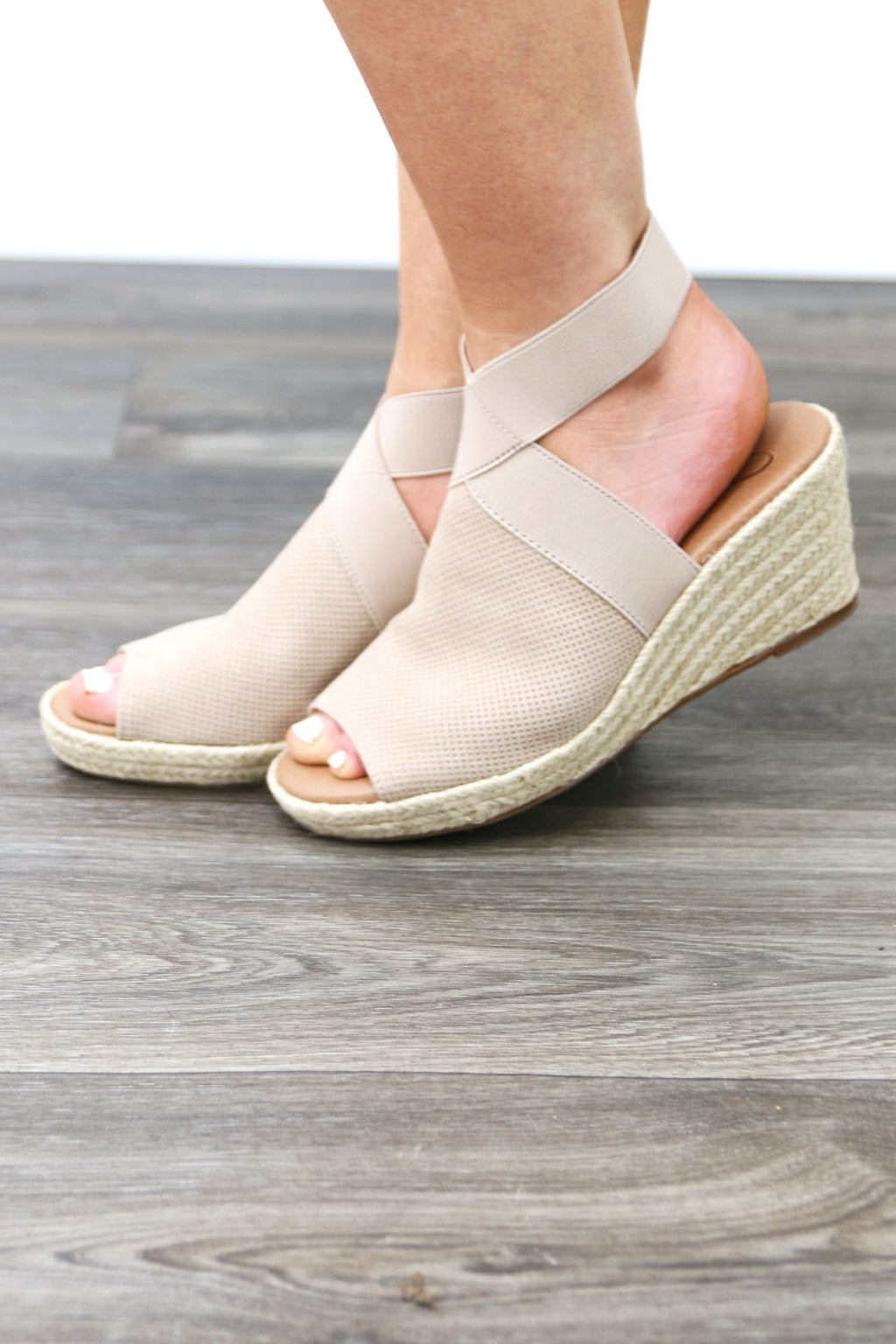 Becky Wedges - Yellow Kiss Boutique
