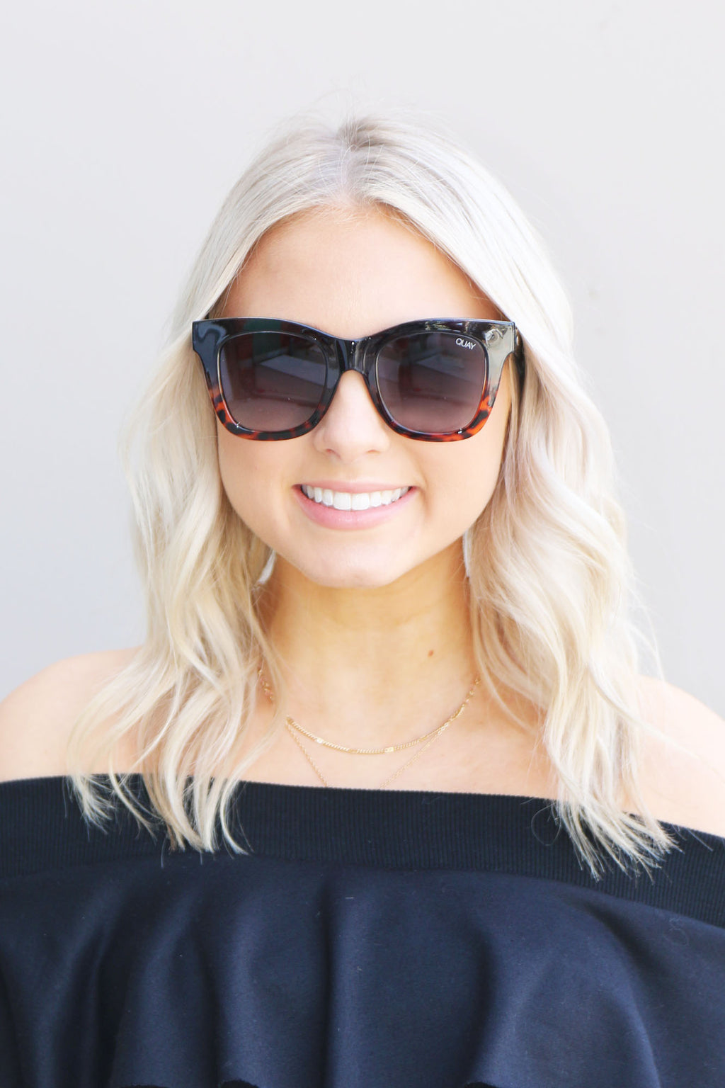 Sunnies After Hours - Navy Tort Quay - Yellow Kiss Boutique