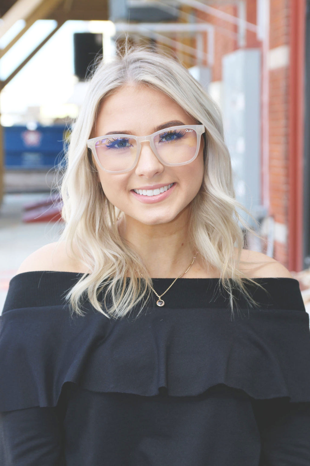 Hardwire Blue Light Glasses - Quay - Yellow Kiss Boutique