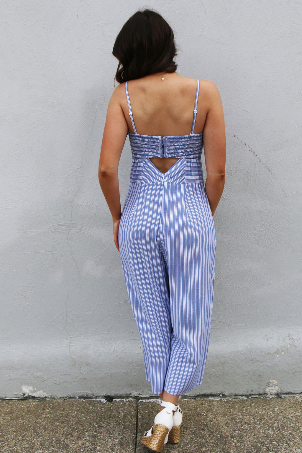 Holly Crop Jumpsuit