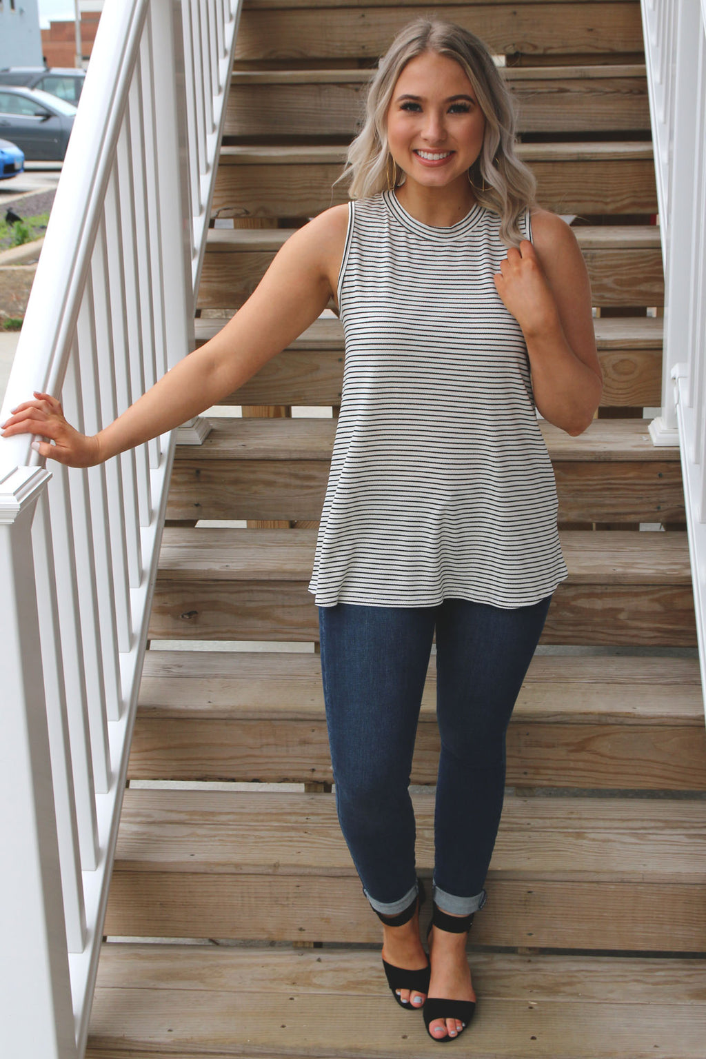 Sugar and Stripes Top
