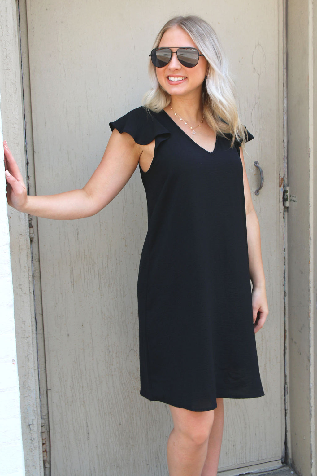 Sweet Honey Dress in Black